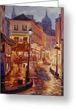 Le Consulate Montmartre Greeting Card