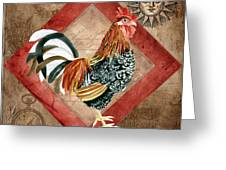 Le Coq - Greet The Day Greeting Card