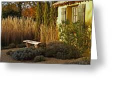 Le Jardin De Vincent Greeting Card