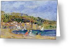 Le Lavandou Greeting Card by Pierre Auguste Renoir