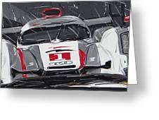 Le Mans Audi R18 Greeting Card