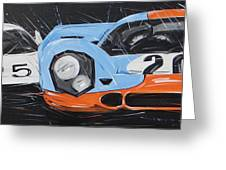 Le Mans Porsche 917 Greeting Card