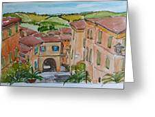 Le Marche, Italy Greeting Card