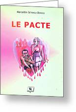 Le Pacte Front Cover Greeting Card