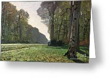 Le Pave De Chailly Greeting Card