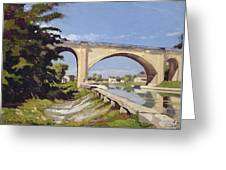 Le Pont Canal A Briare Greeting Card