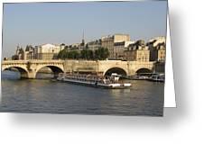 Le Pont Neuf. Paris. Greeting Card