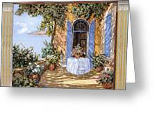 Le Porte Blu Greeting Card