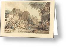 Le Repas Des Moissonneurs Greeting Card