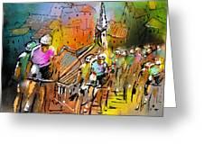 Le Tour De France 04 Greeting Card