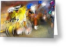 Le Tour De France 05 Greeting Card