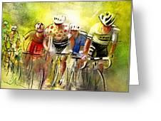 Le Tour De France 07 Greeting Card
