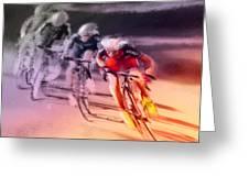 Le Tour De France 13 Greeting Card