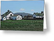 Lea Homestead Greeting Card by DigiArt Diaries by Vicky B Fuller