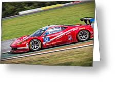 Lead Ferrari Greeting Card