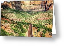 Lead Me To Zion Greeting Card