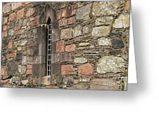 Leaded Nunnery Window Greeting Card