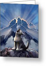 Leader Of The Pack Greeting Card by Jerry LoFaro