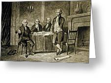 Leaders Of The First Continental Congress Greeting Card