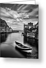 Leading Light At Staithes Greeting Card