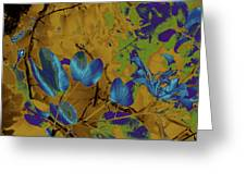 Leaf And Flower 10 Greeting Card