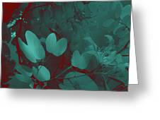 Leaf And Flower 3 Greeting Card
