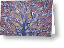 Leaf Tree Greeting Card