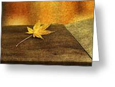 Leaf Zen M Greeting Card