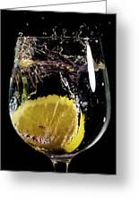 L'eau De Lemon Greeting Card