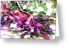 Leave In Autumn Greeting Card