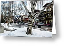 Leavenworth Lights Remain Greeting Card