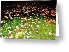 Leaves 2 Greeting Card