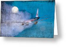 Leavin' On A Jet Plane Greeting Card