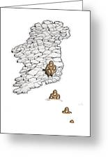 Leaving Ireland Greeting Card