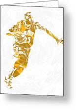 Lebron James Cleveland Cavaliers Pixel Art 14 Greeting Card