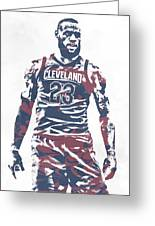 b09759a78 Lebron James Cleveland Cavaliers Pixel Art 61 Mixed Media by Joe ...