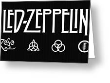 Led Zeppelin 2 Greeting Card