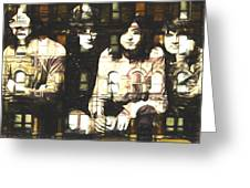 Led Zeppelin Physical Graffiti Greeting Card