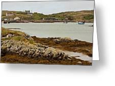 Ledaig Harbour Greeting Card