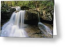 Ledge Brook - White Mountains New Hampshire Usa Greeting Card
