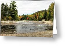 Ledge Falls Hollow, Baxter State Park Greeting Card