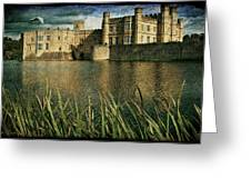 Leeds Castle In Kent Greeting Card