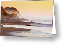 Leffingwell Landing Outcrop Greeting Card