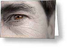 Left Eye Greeting Card