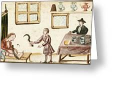 Leg Surgery, 1675 Greeting Card