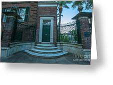Legare Entrance Greeting Card