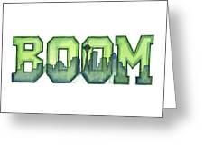 Legion Of Boom Greeting Card
