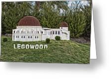 Legowood Greeting Card