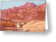Leh, Ladakh Greeting Card