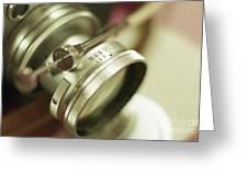 Leica 3c Macro Lens Aperture Ring Greeting Card